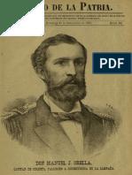 Periódico El hijo de la Patria. N° 10, Domingo 11.Sep.1881