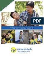 2017 TeamWoodside Event Guide - Detroit Marathon