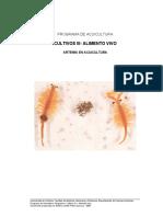 Artemia en Acuicultura