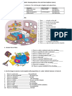 There Be Worksheet Worksheet Templates Layouts 101075