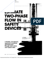 Estimate Two-Phase Flow in Safety Devices