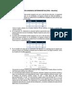 Programación Dinámica Determinística (Pdd - Mochila)