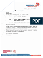 Carta N° PD-ST-2015-190