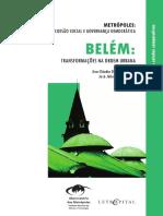 Belém - Transformações Na Ordem Urbana