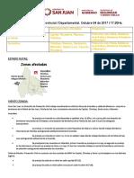 Informe Departamental Provincial 04-10-2017