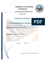 DISPONIBILIDAD DE AGUA E HIDROLOGIA EN MÉXICO.docx