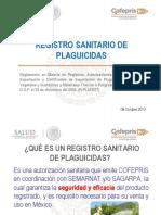 Registro de Plaguicidas y Nutrientes Vegetales