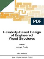 (NATO ASI Series 215) Jozsef Bodig (Auth.), Jozsef Bodig (Eds.)-Reliability-Based Design of Engineered Wood Structures-Springer Netherlands (1992)