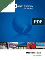 Manual Puertas Seccionales 2015