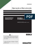 Pc200-8 Operação e Manutenção KOMATSU