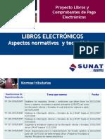 LIBROS ELECTRÓNICOS Aspectos Normativos y Tecnológicos Según SUNAT
