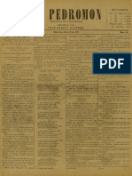 Periódico El Pedromon. Periódico de caricaturas. N° 48, Año I, Miércoles 26.Jun.1901