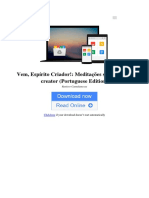 Vem Esprito Criador Meditaes Sobre o Veni Creator Portuguese Edition by Raniero Cantalamessa b01atuh7me