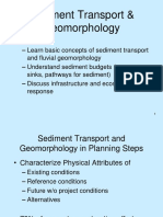 2016-06-SEDIMENT TRANSPORT DAN GEOMORPHOLOGY.pptx