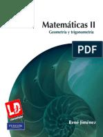 (René Jiménez) - Matemáticas II. Geometría Y Trigonometría (2º Edición)
