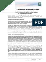 Lectura 1 - Información Administrativa Para La Toma de Decisiones