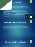La Sociología.