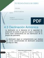 4.3 Declinacion Armonica Corregida