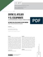 Bertúa- Entre El Atelier y El Escaparate- Articulo BOA