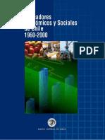 Banco Central, 2001 - Indicadores Económicos y Sociales de Chile 1960-2000