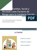 Violencia Familiar y Suicidio 2014 IRLA