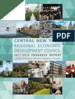 2017 Progress Report of CNY Regional Economic Development Council