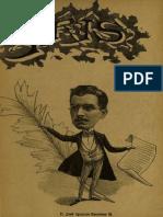 Periódico Iris. Periódico literario ilustrado. Año I, N° 7. Santiago 4ta. semana de Mayo de 1901