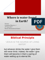 Step 3 Science 4th Term 2017 - Where is Water Found on Earth