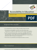 cotter accessibilty in education pp