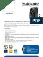 Catalogo de Estabilizador SMS Revolution Speedy Compacto 300 VA Ou W (22400 110417)
