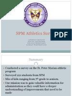 st  peter marian athletics survey