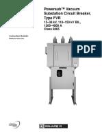 Substation Circuit Breaker Type FVR
