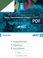 Medición Indicadores de Agua 2017