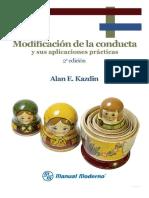 DocumentSlide.org-Modificación de La Conducta y Sus Aplicaciones Prácticas - Alan E. Kazdin - Learning