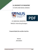 Media Plan and Mix NutriTea