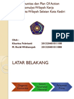Diagnosa Komunitas Dan Plan of Action Kelurahan Rejomulyo