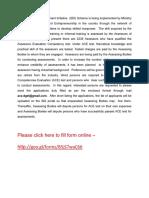 Invitation for Hiring Assessors Under SDI Scheme