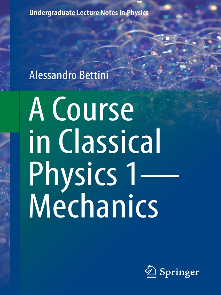 A Course in Classical Physics 1—Mechanics pdf | Rotation Around A
