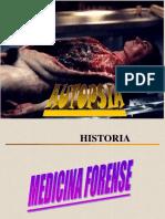 presentación cadaverica