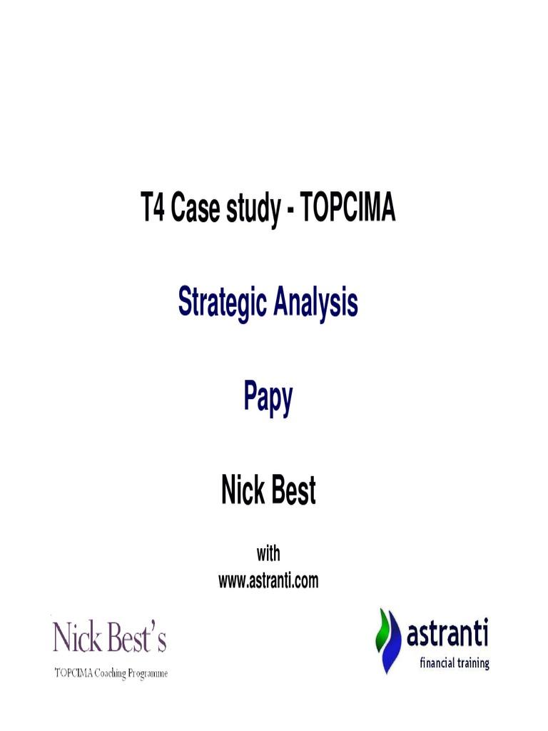 topcima case study november 2013