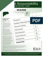 Maine Judges HALT F for Maine