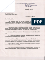 Judicial Oversight Decision Dec 2009