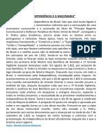 A INDEPENDÊNCIA E A MAÇONARIA.pdf