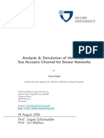 Analysis and Simulation of the Deep Sea (1)