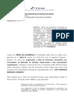 Parecer Tcm Honorarios Sucumbencia Procuradores