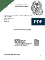 Personas Juridicas, Colectivas y Morales