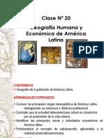 Clase 1 Geografía Economica y Humana en América Latina