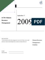Final HRM Portfolio