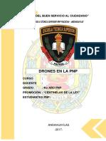 Uso de Drones en La Pnp