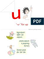 Book 5 Alphabet Pages to Fold for Flash Cards